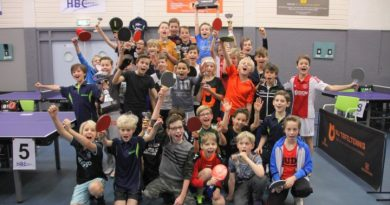 Inschrijving Ping-Pong Stars geopend